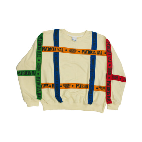 Multi-Color Industrial Strapped Sweater