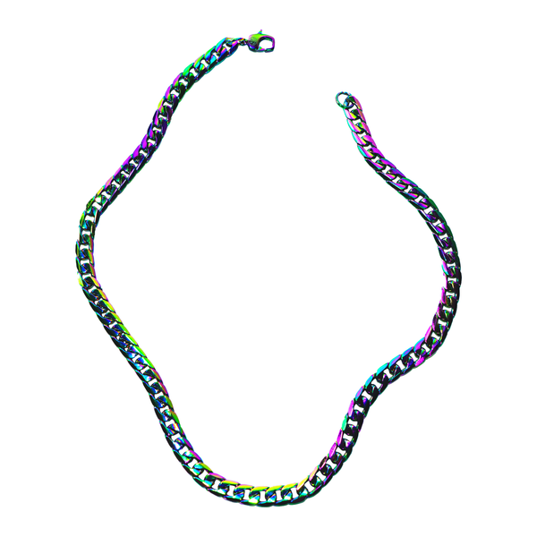 Reptilian Cuban Link Necklace