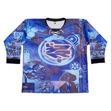 "Blue ""Malfunction"" Hockey Jersey"