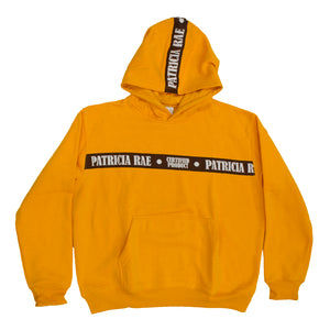 """Gold"" Woven Strapped Hoodie"