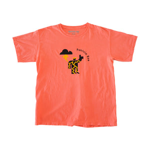 """Electric Peach"" Construction Worker Shirt"
