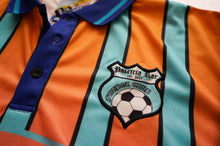 Turquoise Striped Futbol Club Jersey