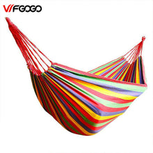WFGOGO Multicolor Canvas Hammock