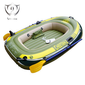 Wnnideo Cheetah-2 Inflatable Boat Set (with french oars and mini air pump)