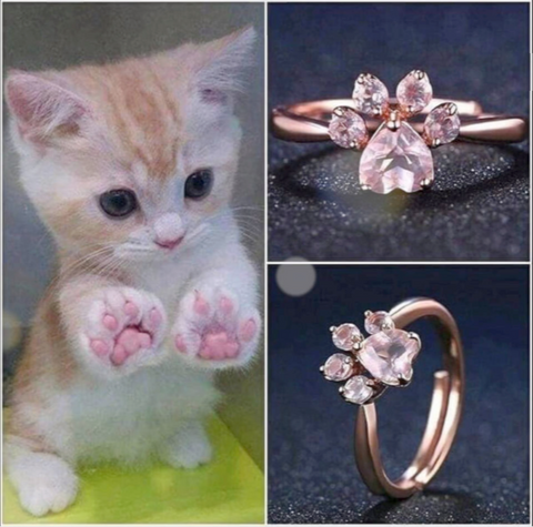 Limited Edition - Cat Paw Ring