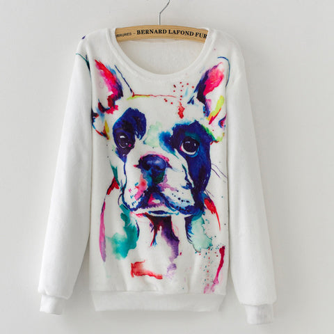 ***** Gotta Have it - Oversized Dog Cashmere Sweater