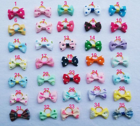"""Set of 20"" - Pet Grooming Clips (35 Colors)"