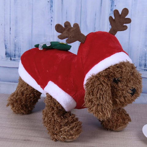 Christmas Reindeer Fleece for Dogs