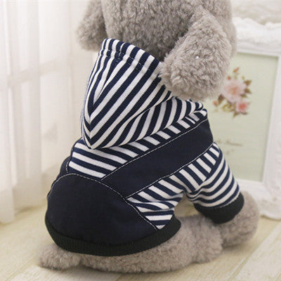 Winter Dog Clothes Hoodies