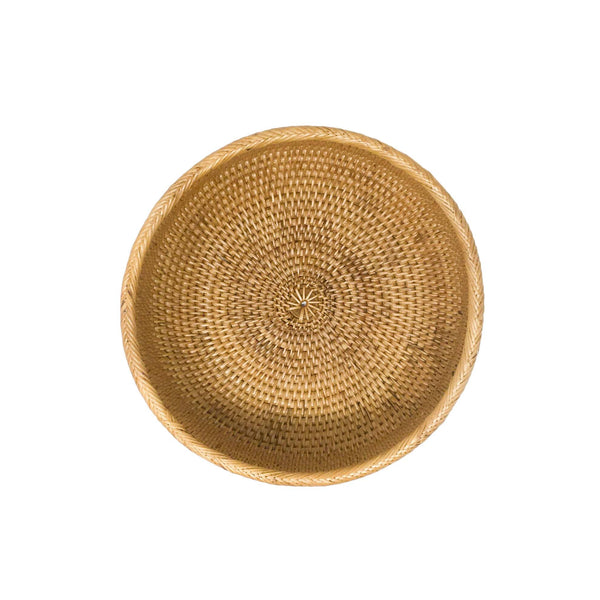 Everyday Rattan Bowl
