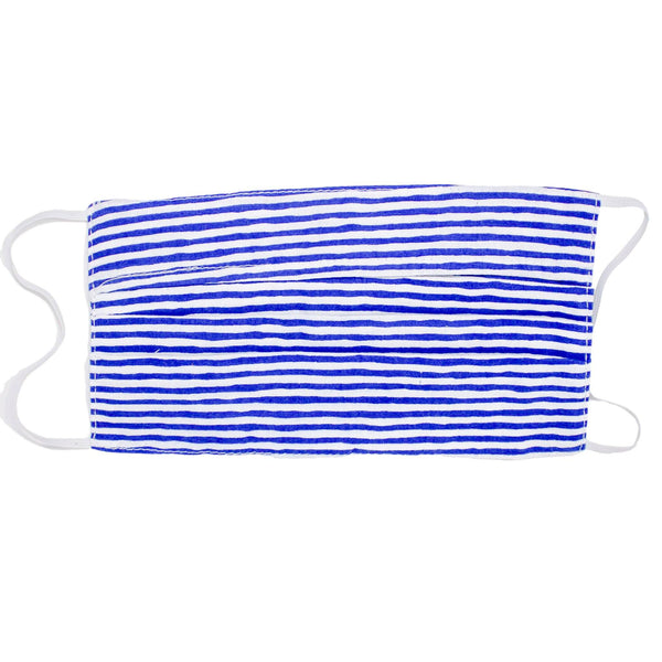 Face Mask - Nantucket Navy Stripe