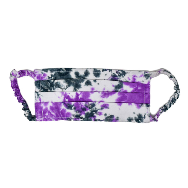 Face Mask - Purple Tie Dye