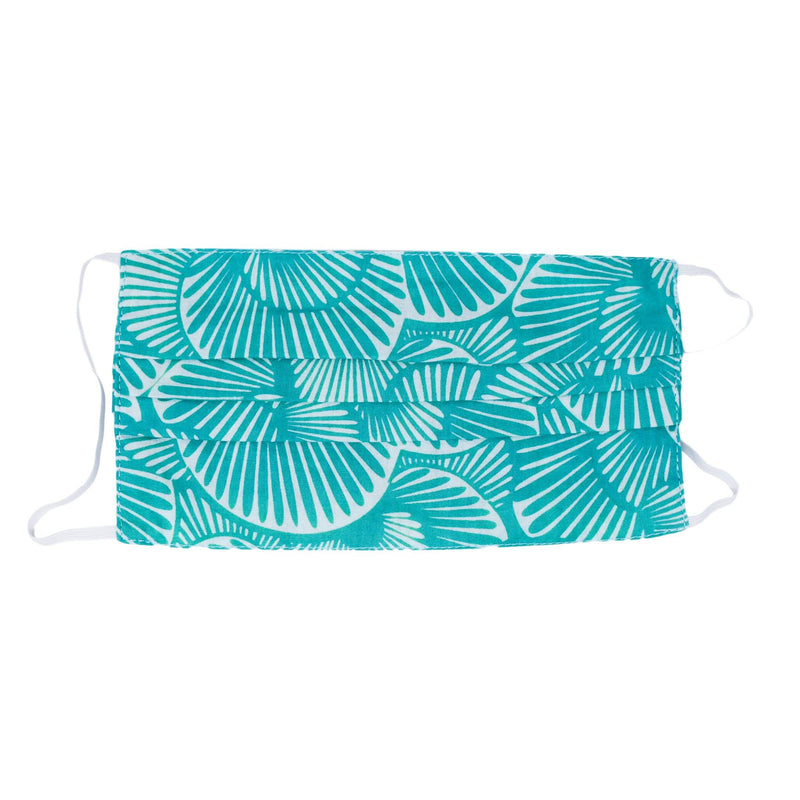 Face Mask - Seashell Summer in Tropical Green (*LIMITED EDITION*)