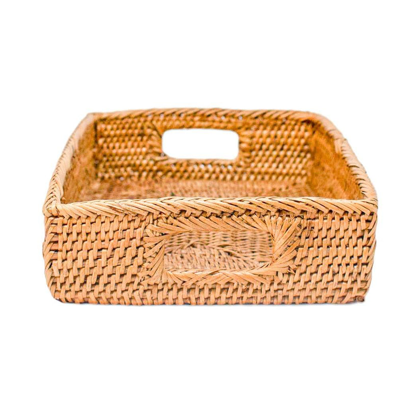 HONEY RATTAN TRAY {Small}
