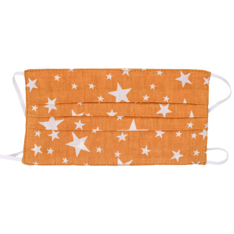 Kids Face Mask - Butterscotch Stars