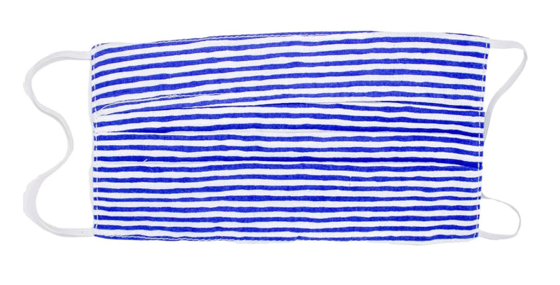 Kids Face Mask - Nantucket Navy Stripe