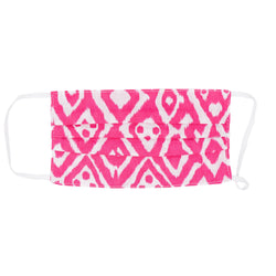 Kids Face Mask - Watermelon Pink Ikat
