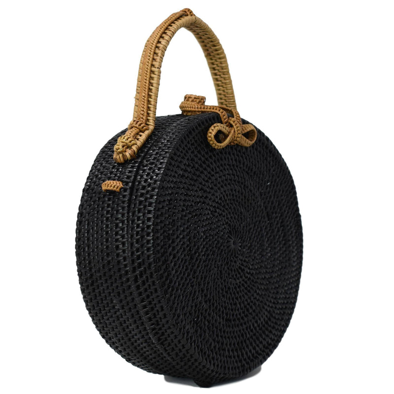 MILLY BAG {Black & Tan}