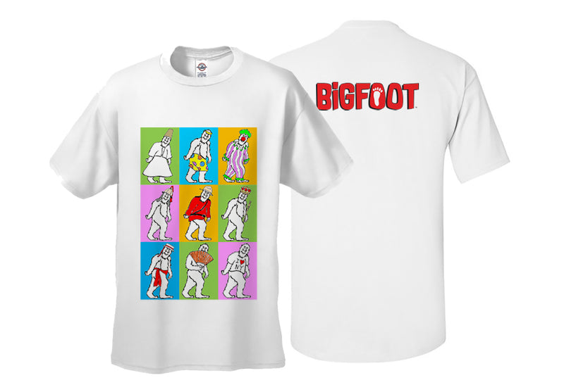 BigFoot Grid Adult T-shirt