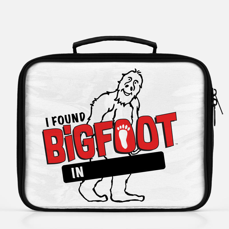 PERSONALIZE - BigFoot I Found BigFoot In... Lunch Box