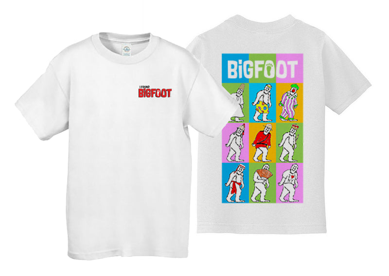 BigFoot I Found BigFoot Youth T-shirt