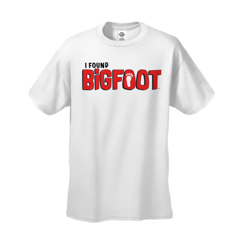 BigFoot I Found BigFoot Adult T-shirt
