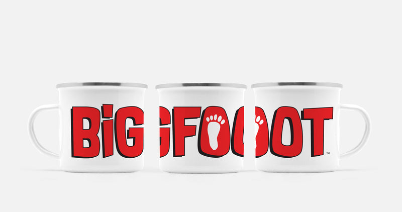 BigFoot Logo Camp Mug