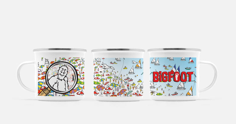 BigFoot Magnifier Camp Mug