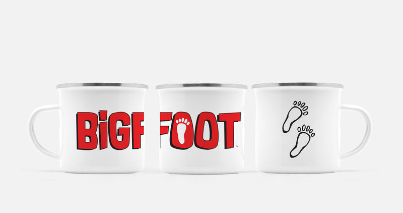 BigFoot Footprints Camp Mug