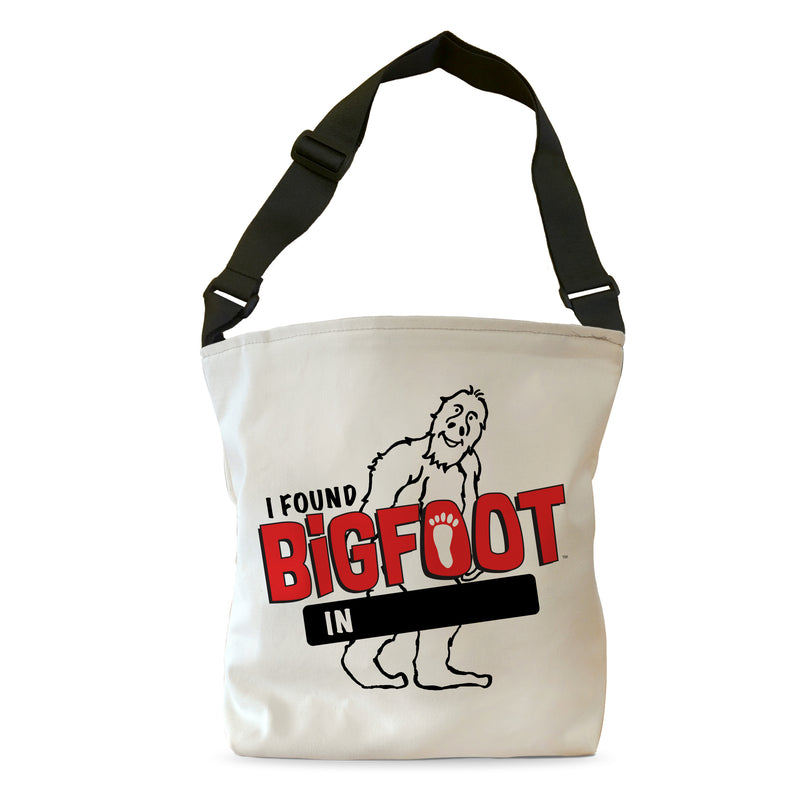 PERSONALIZE - BigFoot I Found BigFoot Tote Bag