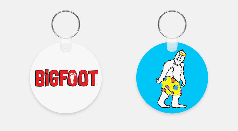BigFoot Swim Trunks Keychain