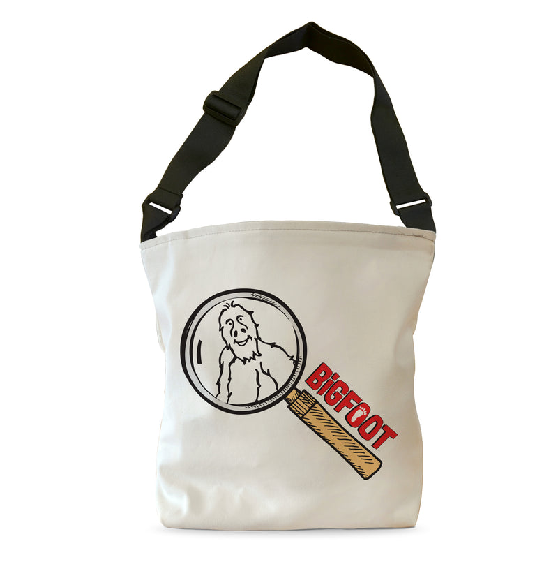 BigFoot Magnifier with Logo Tote Bag