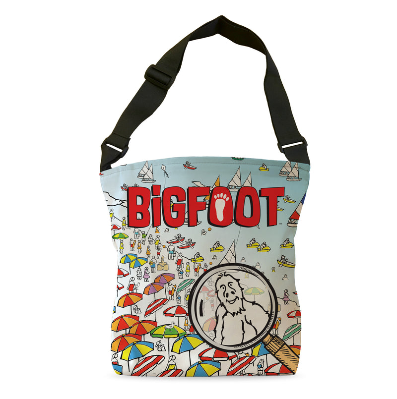 BigFoot Magnifier Tote Bag