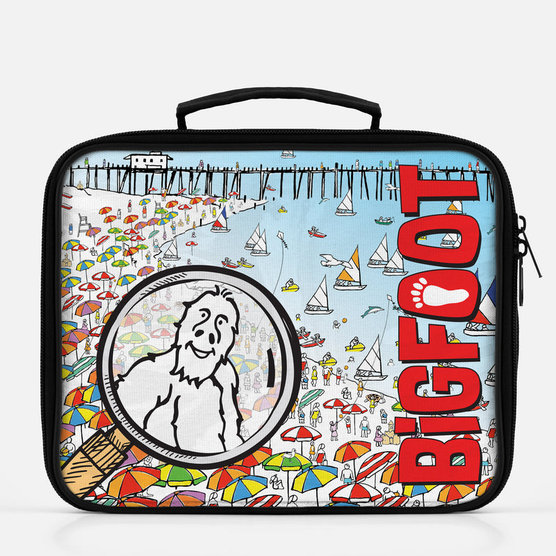 BigFoot Magnifier Lunch Box