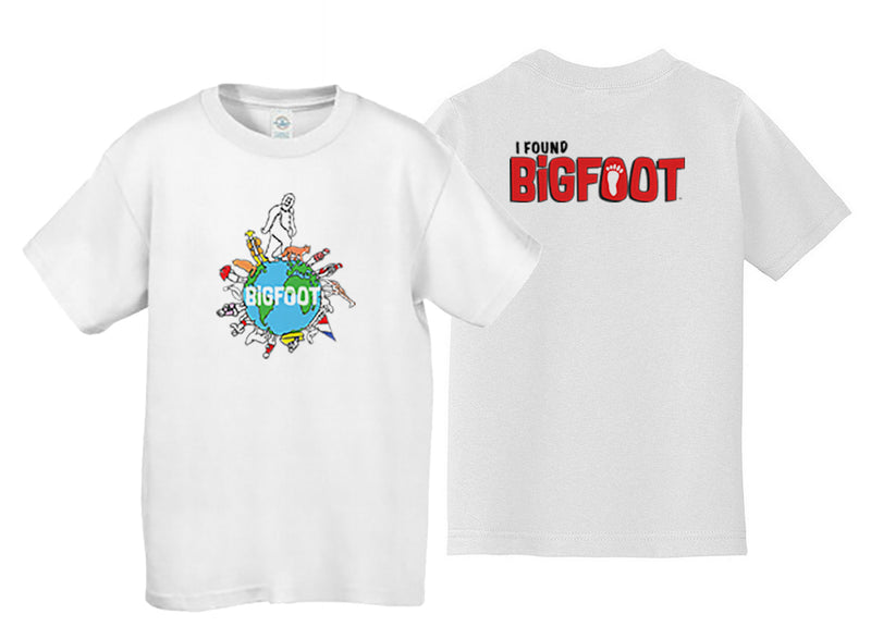 BigFoot World Youth T-shirt