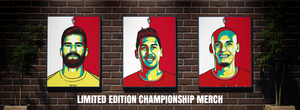 Liverpool FC Champions Title Winning Merch A3 Prints Limited Edition