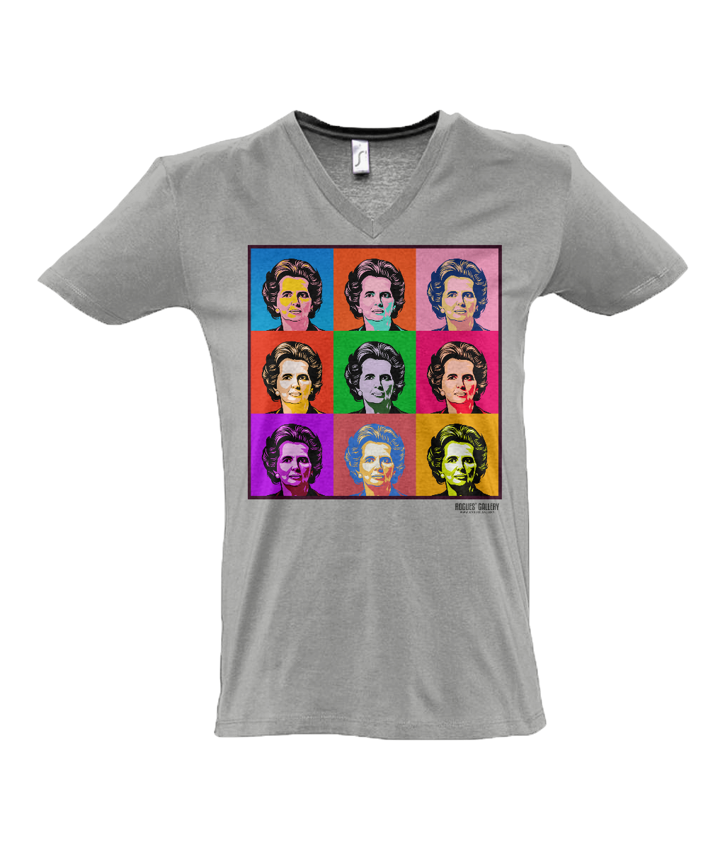 Iron Lady Pop Art T-Shirt