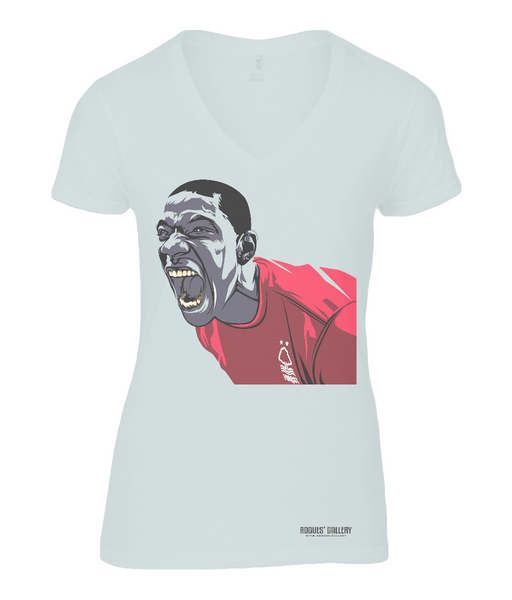 Mooooouuusssssii Ladies V Neck T-Shirt