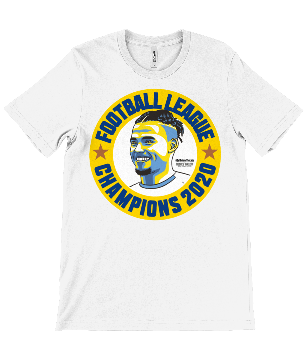 Kalvin Phillips Champions Leeds United 2020 unisex t-shirt white
