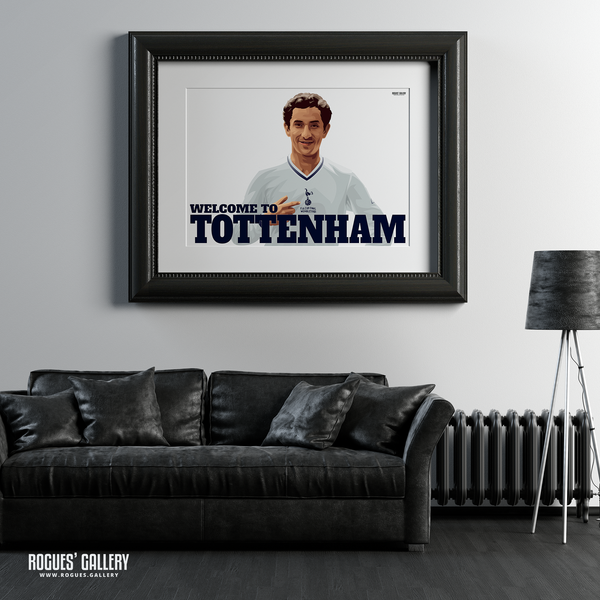 Ossie Ardiles Argentina Spurs Tottenham Hotspur Midfielder FA Cup THFC A1 print