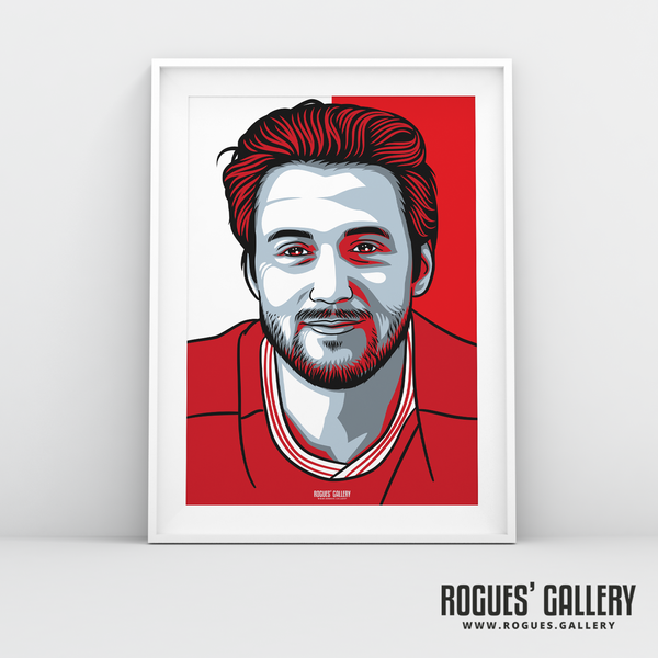 Harry Arter midfielder Nottingham Forest FC The City Ground NFFC A3 print