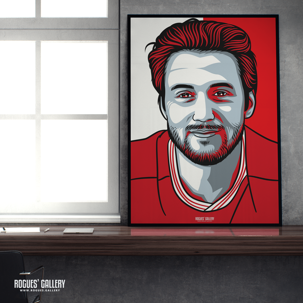 Harry Arter midfielder Nottingham Forest FC The City Ground NFFC A1 print