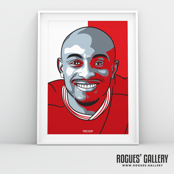 Fouad Bachirou midfielder Nottingham Forest FC The City Ground NFFC A3 print