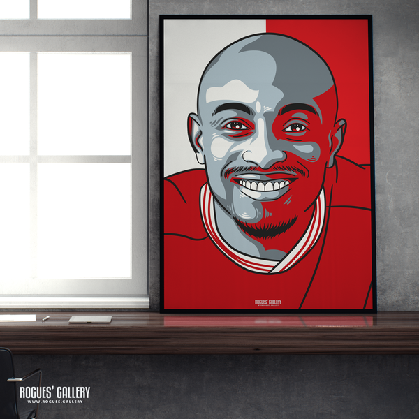 Fouad Bachirou midfielder Nottingham Forest FC The City Ground NFFC A1 print