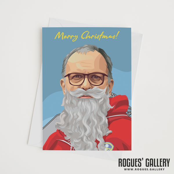 Marcelo Bielsa Beard greeting cards Christmas Xmas Leeds United LUFC Elland Road