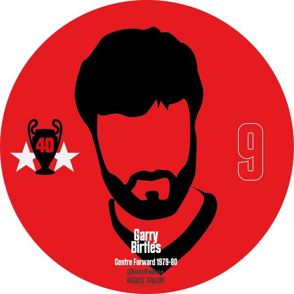 Garry Birtles striker Nottingham Forest Miracle Men stickers City Ground European Cup 1979 1980