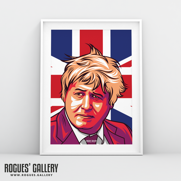 Boris Johnson Conservative PM A3 Print edit