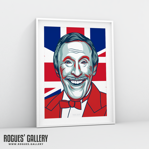 Bruce Forsyth Strictly Come Dancing presenter BBC A3 print