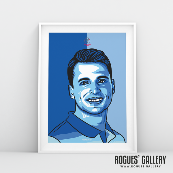 Jos Buttler England Cricket World Cup CWC2019 Winners art print A3 edit