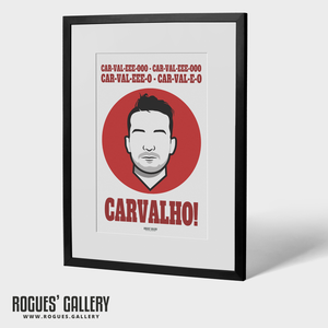 Joao Carvalho Nottingham Forest FC City Ground Icon Art